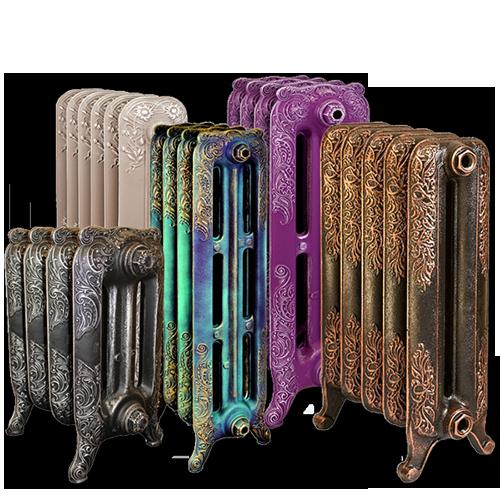 Производство чугунных радиаторов в Ретро стиле